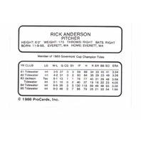 1986 ProCards Tidewater Tides Complete 28 Card Set Baseball Minors Norfolk