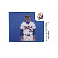 1986 ProCards Tidewater Tides Complete 28 Card Set Baseball Minors Norfolk