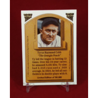 1992 Whitehall Legends To Life Complete 5 Card Set Holograms Ruth Cobb Gehrig