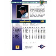 1999 Blueline Norwich Navigators Complete 30 Card Set Baseball Minor League