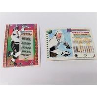 1994-95 Score Platinum Hockey Team Set Los Angeles Kings with Wayne Gretzky Card