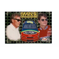 1996 Finish Line Man And Machine 10 Card Set NASCAR Gordon Wallace Martin