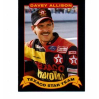 1992 Maxx Texaco Davey Allison Complete 20 Card Set NASCAR Racing
