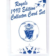 Kansas City Royals 1993 Edition Collector Card Set 25 Cards MLB Baseball NIOP