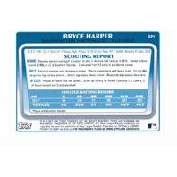 2011 Bowman Prospects Complete 110 Card Set MBL Baseball Bryce Harper