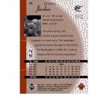 2001-02 Upper Deck Inspirations 90 Card Set NBA Basketball Michael Jordan