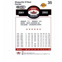 2001-02 Fleer Shoebox Complete 180 Card Set NBA Basketball Shaq Iverson