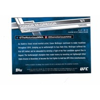 2017 Topps Chrome UFC Complete 100 Card Set Hand-Collated Rousey McGregor