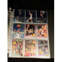 2000-01 Topps Chrome Complete 200 Card Set With 7 Insert Sets NBA