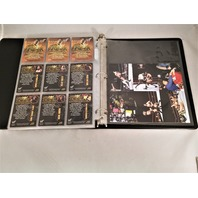 2000 Comic Images WWF ROCK SOLID Full 72 Card Set & Holofoils & Promos In Binder