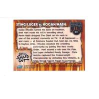 1999 TOPPS WCW/NWO NITRO CHROME Full 12 Card Set Wrestling Sting Goldberg Nash