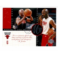 1997-98 Upper Deck Michael Jordan Michael's View Points Complete 10 Card Set