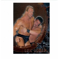 1999 Topps WCW Embossed Chrome Complete 5 Card Set Wrestling Luger Goldberg