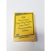1990 Green Bay Packers Super Bowl I 25TH Anniversary Complete 45 Card Set Sealed