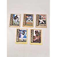 1995 Upper Deck Michael Jordan Tribute Embossed Metal 5 Card Set Baseball