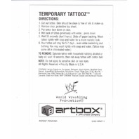 1999 ARTBOX WWF MOTIONCARDZ TEMPORARY TATTOOZ Complete Set Of 8 Stone Cold Kane
