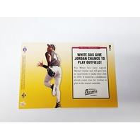 1995 Upper Deck Minors Michael Jordan Foil Jumbos Complete 5 Card Set Baseball