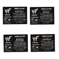 1998 DUOCARDS WWF AUTOGRAPHS 11 Card Set The Rock Chyna Owen Hart Paul Bearer
