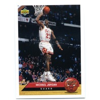 1992-93 UPPER DECK MCDONALD'S Full 50 Card National Set NBA Jordan Ewing Thomas