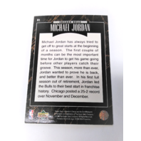 1995-96 Upper Deck Predictor Player Of The Month Redemption Set Michael Jordan