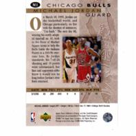1995-96 Upper Deck Collector's Choice MICHAEL JORDAN He's Back 5 Card Set