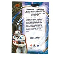 2000 Collector's Edge Masters Hasta La Vista Gold 20 Card Set Emmitt Smith