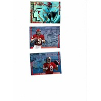 1994 Collector's Choice Then and Now Joe Montana/Steve Young Montana/Dawson