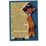 1992 Fleer Ultra Award Winners Complete Set Baseball MLB Ripken Bonds Griffey
