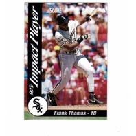 1992 Score Impact Players 45 Card Set #1-45 Baseball MLB Frank Thomas Griffey