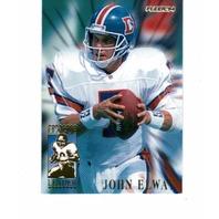1994 Fleer League Leaders Football NFL 10 Card Set John Elway Steve Young