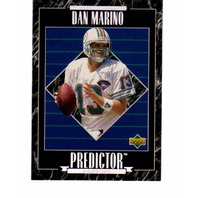 1995 Upper Deck Predictor League Leader Prizes 30 Card Set NFL Marino Favre