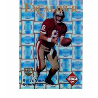 1995 Collector's Edge Excalibur 22K Gold Shield Silver Prisms 50 Card Set /750