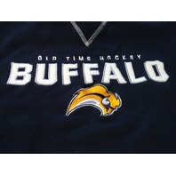 Old Time Hockey Navy Blue Buffalo Sabres Sweatshirt Men's Size XL NHL