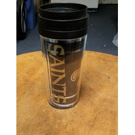 NFL New Orleans Saints 16 oz Insulated Travel Tumbler