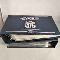 Official Super Bowl Patch Collection I-XLVI 1-46 In 2 Binders Willabee And Ward