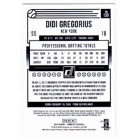 Didi Gregorius 2018 Panini Donruss Artist Proof 05/10 New York Yankees