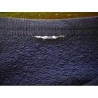 Navy Blue Seattle Seahawks Sweatshirt Lightweight Unsized Football NFL