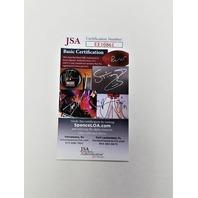 Johnny Unitas Auto 1965 Seahawks Gridiron Assoc 3rd Banquet Program JSA COA