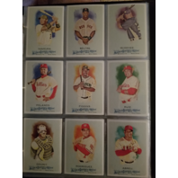 2010 Topps Allen and Ginter Baseball Hand Collated Complete Set 1-350 Bumgarner
