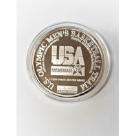 1996 Enivromint Shaquille O'Neal Silver Medallion Olympics USA Dream Team 2