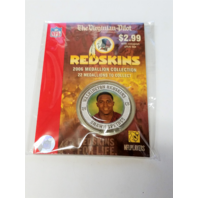 2006 SHAWN SPRINGS Washington Redskins For Life Collectible Medallion Coin