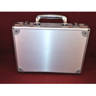 Empty Panini Flawless Silver Baseball MLB Briefcase Case With Foam Insert