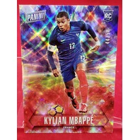 Kylian Mbappe 2018 Panini Father's Day Future Frames Prizm Rookie RC /50