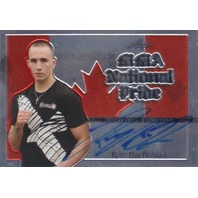 2011 Leaf MMA Metal National Pride Autographs #NPRM1 Rory MacDonald