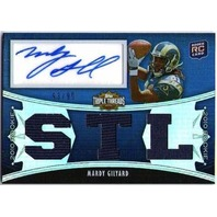 MARDY GILYARD 2010 Topps Triple Threads Jersey Autograph Rookie #128 RC /99 STL
