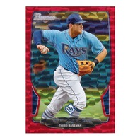 2013 Even Longoria Bowman Red Ice /25
