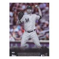 Sonny Gray 2018 Topps Clear #469 Serial Numbered 03/10 New York Yankees