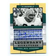 2004 Upper Deck Legends Legendary Signatures #LSJK Jerry Kramer Auto