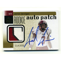 2011 SP Authentic #211 Jerrel Jernigan Rookie Auto Patch JSY RC /699