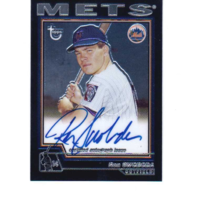 Ron Swoboda 2004 Topps Chrome Retired Signature Autograph #RS auto New York Mets